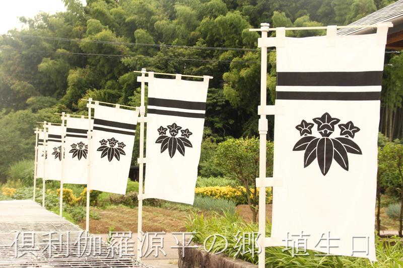 源氏の家紋。笹竜胆