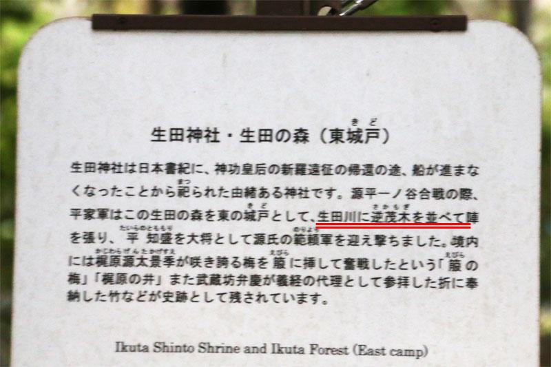 生田の森の解説