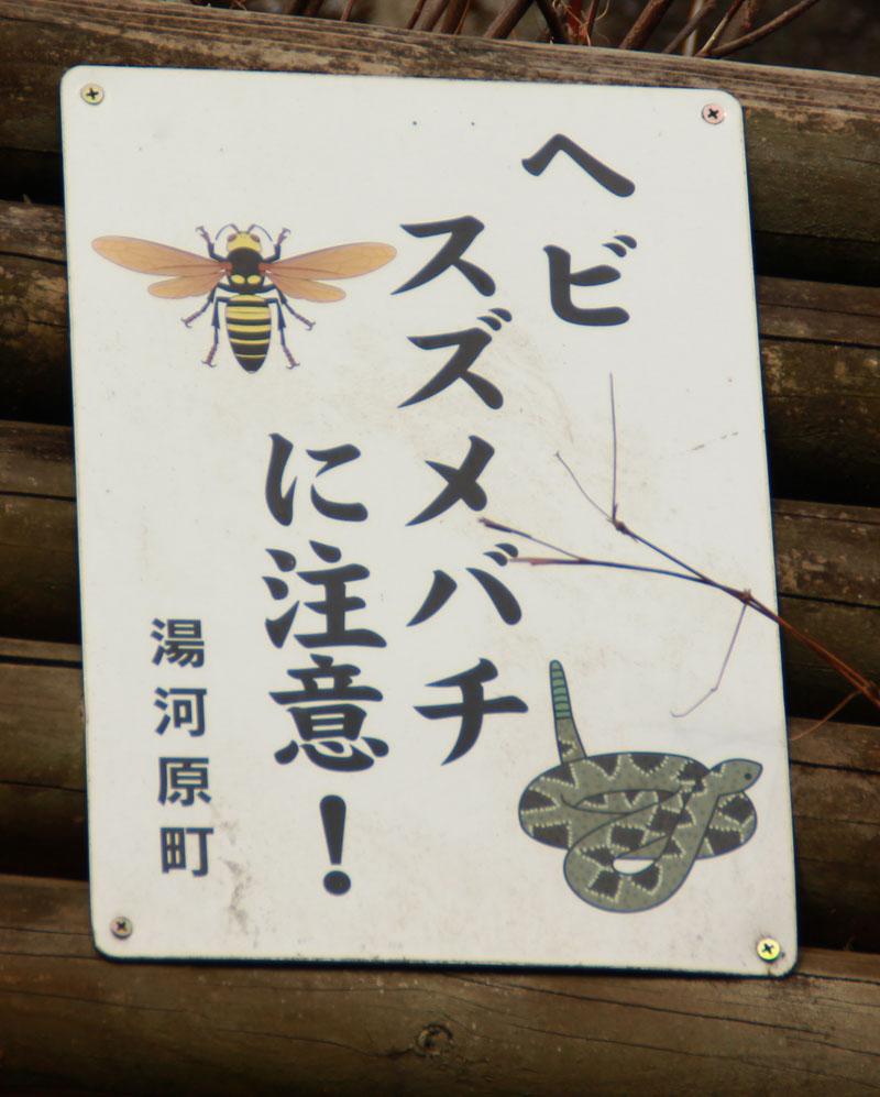蛇やスズメバチ…